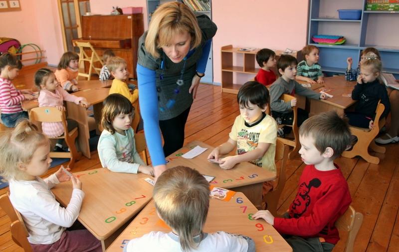 детских фото садах с занятий в